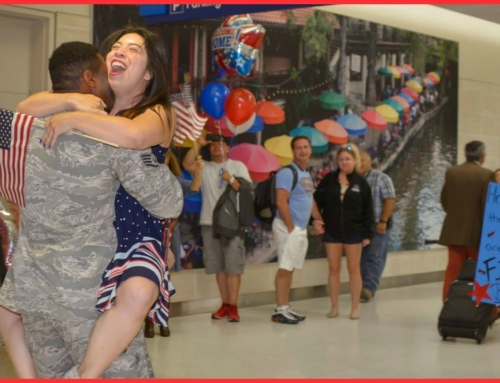 A HEARTWARMING MILITARY HOMECOMING